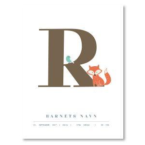 Navneplakat R