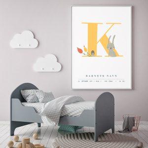 Fødselsplakat K