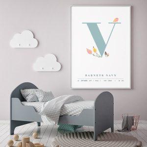 Fødselsplakat V