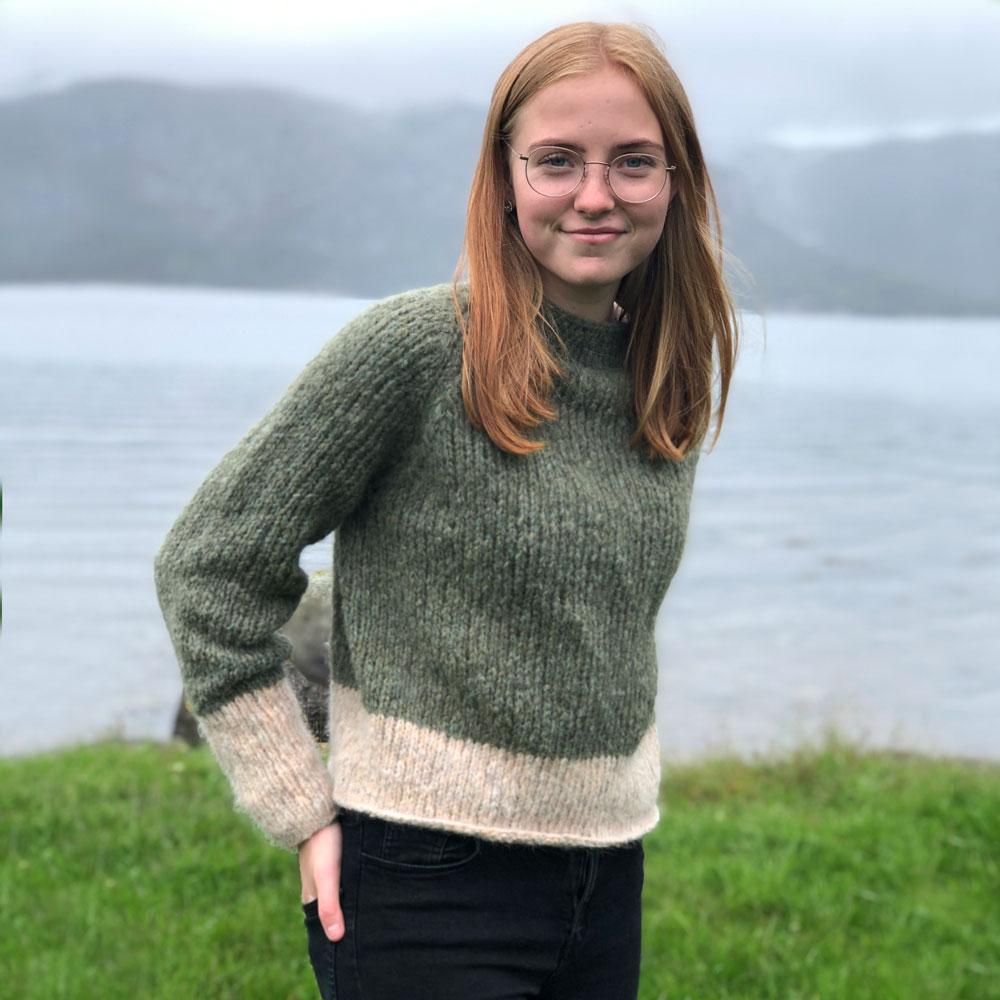 strikke genser dame 2019