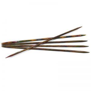 2.5mm 15cm - Symfonie strømpepinner regnbue