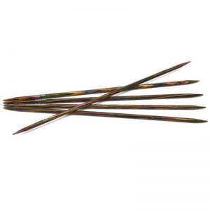 4.5mm 20cm - Symfonie strømpepinner regnbue