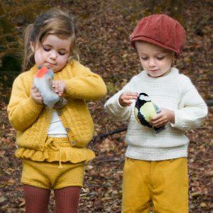 Bluum strikkejakke og bloomer - Hardanger