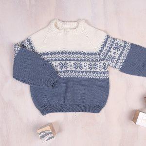 Bluum strikkegenser og bloomer - Stjerne