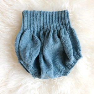 Bluum ballong-bukse - gratis strikkeoppskrift.