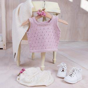 Bluum singlet og ballongbukse i Pure Eco Baby Wool