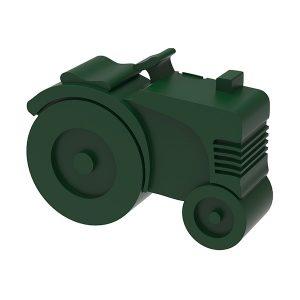 Matboks toroms - traktor (grønn)