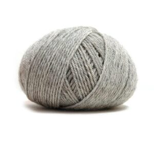 Pure Eco Baby Wool Lys grå melert