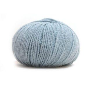 Pure Eco Baby Wool Dus gråblå