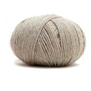 Pure Eco Baby Wool Lys beige melert