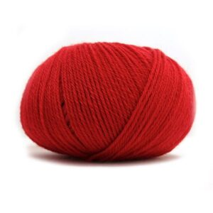 Pure Eco Baby Wool Klar rød
