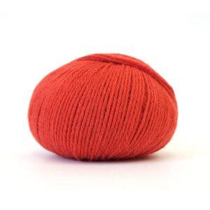 Pure Eco Baby Wool Krapprød