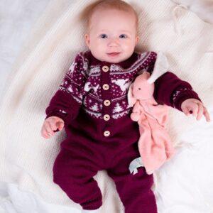 Bluum strikkedress - Bambi i Pure Eco Baby Wool