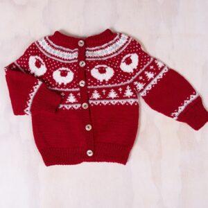 Bluum strikk - Billebæ jakke i Pure Eco Baby Wool