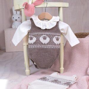 Bluum strikkebodyer - 2 stk Sau+And i Pure Eco Baby Wool