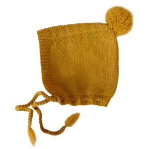 Bluum strikkelue - Hardanger i Pure Eco Baby Wool