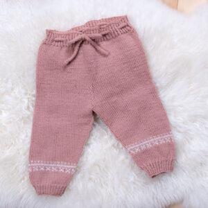 Bluum strikkebukse i Pure Eco Baby Wool