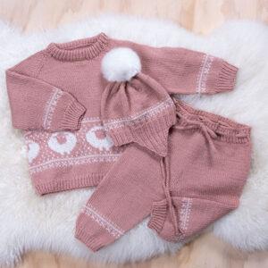 Bluum strikkesett - Billebæ i Pure Eco Baby Wool