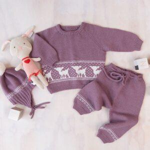 Bluum strikkesett - Bambi i Pure Eco Baby Wool