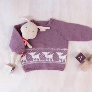 Bluum strikkegenser - Bambi i Pure Eco Baby Wool