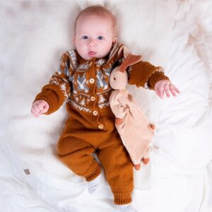 Bluum strikkedress - Rev i Pure Eco Baby Wool