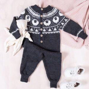 Bluum strikkedress - Billebæ i Pure Eco Baby Wool
