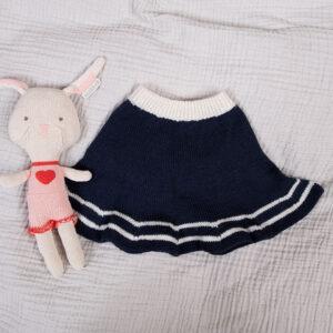 Bluum strikk - Matros sett m/skjørt i Pure Eco Baby Wool