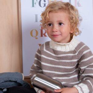 Bluum strikk - Barnehage-genser i Zara Plus