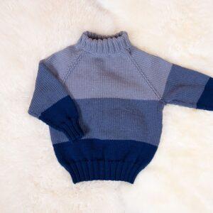 Bluum strikk - Ute-genser i Zara Plus