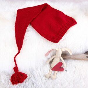 Bluum strikk - Julegenser 5 frg og nisselue i Soft Merino Ull