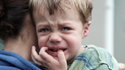 Ustoppelig gråt i søvne