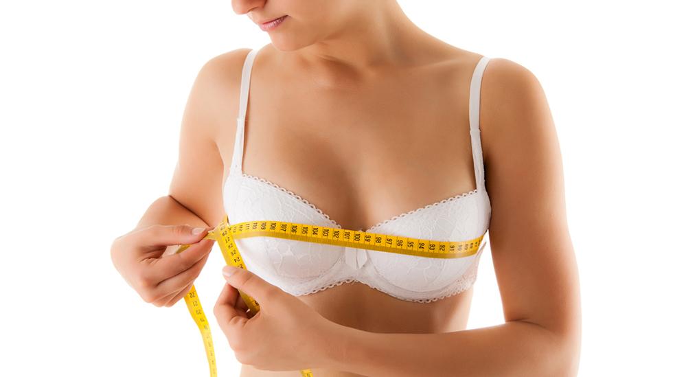 For å være sikker på at du kjøper riktig BH, bør du måle deg jevnlig. Illustrasjonsfoto: Shutterstock