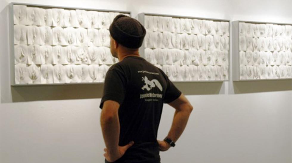 400 kvinner stilte opp slik at kunstneren Jamie McCartney laget gipsavtrykk av vaginaene.