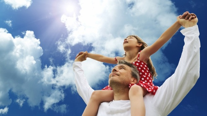 Ved samlivsbrudd skal barnets beste veie tyngst, men hva er det egentlig? Illustrasjonsfoto: Crestock