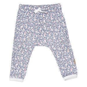 """INES bukse i mønster """"Mose"""" - blå"""