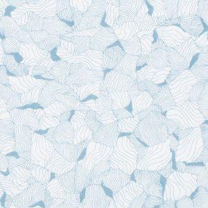 """RAGNHILD trøye i mønster """"Moderjord"""" - blå"""