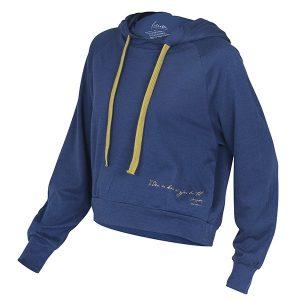 """SHERRI hoodie i fargen """"Blå"""""""