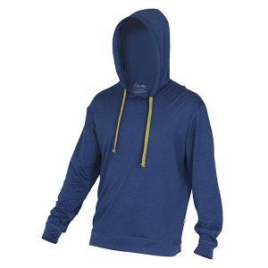 """BRAM hoodie i fargen """"Blå"""""""