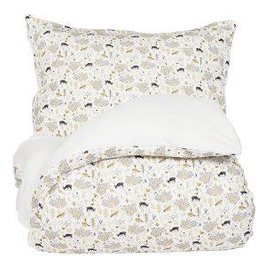 """AMANDUS sengetøy i mønster """"Harmoni"""" 140x200"""
