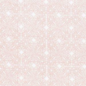 """AMANDUS sengetøy i mønster """"Vaffel"""" - rosa 140x200"""