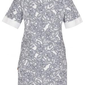 """GODIVA t-skjorte i mønster """"Håndtegnet"""" - mørkeblå"""