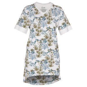 """GODIVA t-skjorte i mønster """"Sommernatt"""" - blå"""