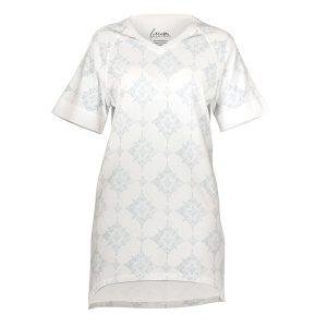 "GODIVA t-skjorte i mønster ""Strindberg"" luft"