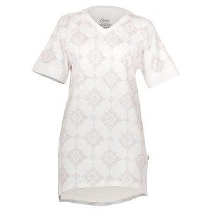 """GODIVA t-skjorte i mønster """"Strindberg"""" pudder"""