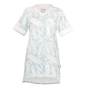 """GODIVA t-skjorte i mønster """"Fjærdans"""" luft"""