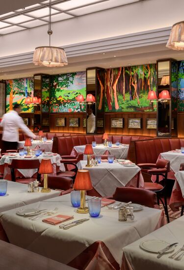 The Colony Grill Room at The Beaumont Hotel in London