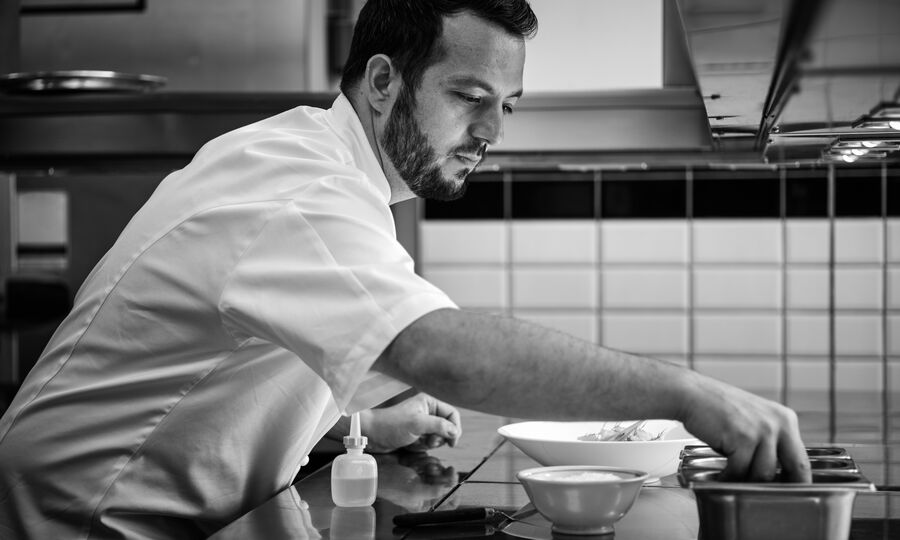 The Colony Grill Room Head Chef Ben Boeynaems
