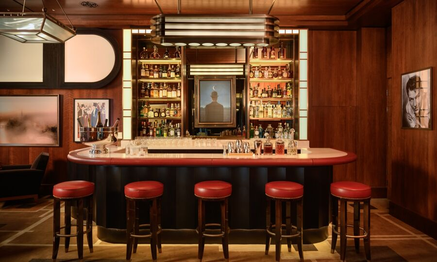 Le Magritte Bar and Terrace in Mayfair London