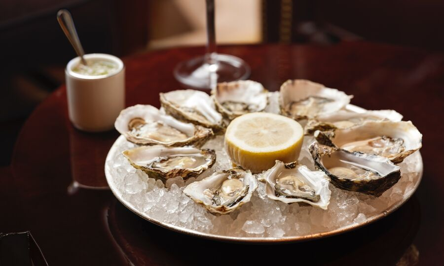 Le Magritte Bar and Terrace Oysters