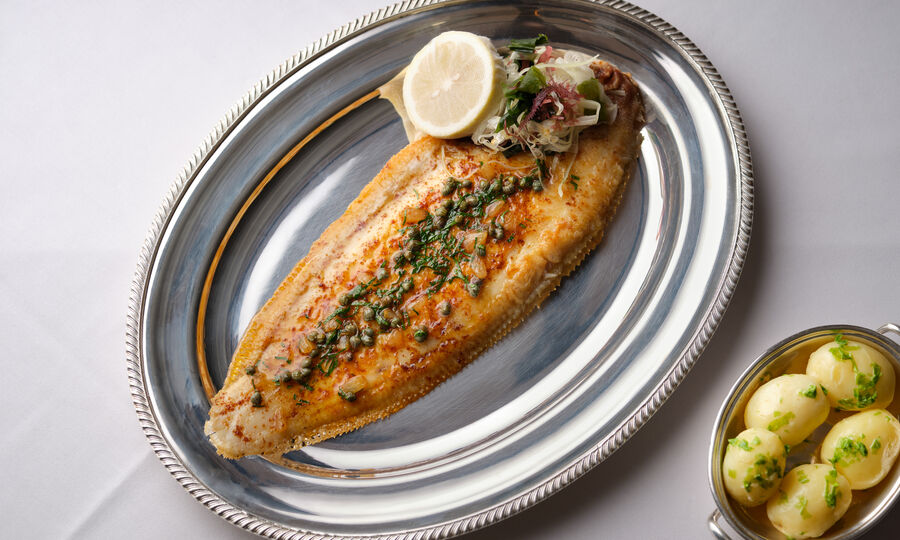 The Colony Grill Room Dover Sole